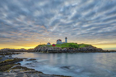 Photograph - Nubble Lighthouse by Juergen Roth