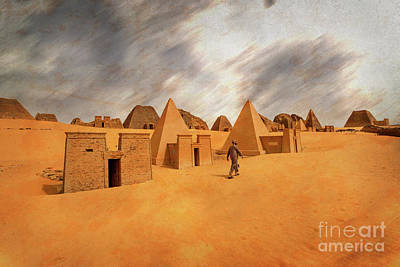 Photograph - Nubian Pyramids Of Meroe 2 by Naoki Takyo