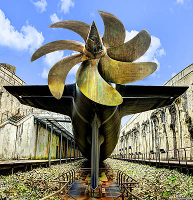 Photograph - Nuclear Submarine Propeller by Weston Westmoreland