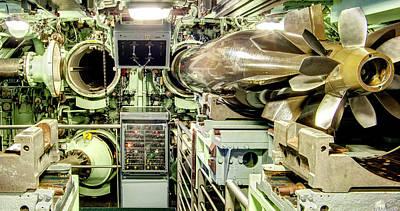 Nuclear Submarine Torpedo Room Art Print