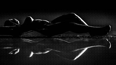 Photograph - Nude Art Bw 2 by Jorg Becker