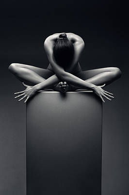 Kitchen Collection - Nude woman fine art 3 by Johan Swanepoel