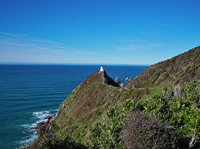 Photograph - Nugget Point Lighthouse 3 - New Zealand by Steven Ralser