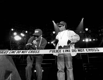 Photograph - N.w.a. Live In Concert by Raymond Boyd
