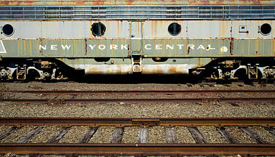 Photograph - Ny Central by Karol Livote