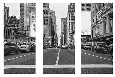 Photograph - Ny Fastlane by JD Mims