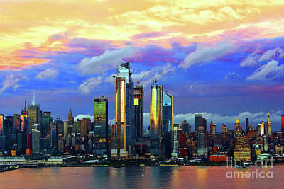 Granger Royalty Free Images - NYC Farewell Florence Sundown   Royalty-Free Image by Regina Geoghan