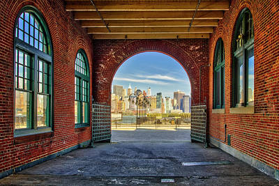 Photograph - Nyc Skyline View by Susan Candelario