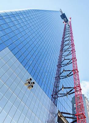 Photograph - Nyc Skyscraper In Progress by Gary Slawsky
