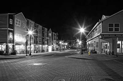 Photograph - Nye Beach - Coast Street by Thom Zehrfeld