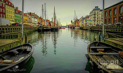 Photograph - Nyhavn by Kira Bodensted