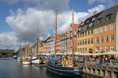 Photograph - Nyhavn the Beautiful by Steve Boyko
