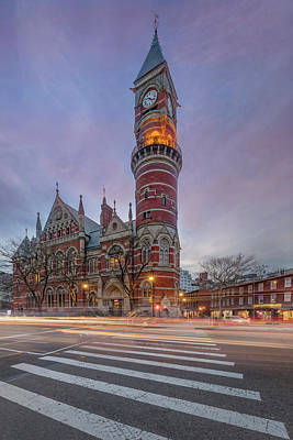 Photograph - Nypl Jefferson Market Branch by Susan Candelario
