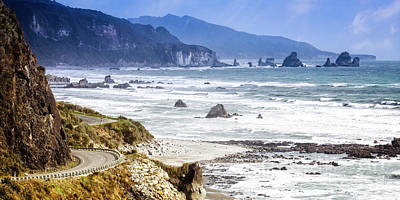 Photograph - Nz Coastal Drive by Scott Kemper