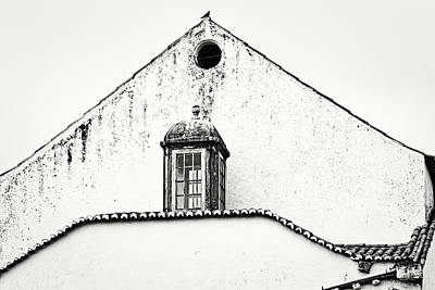 Photograph - Obidos White Facade - Portugal by Stuart Litoff