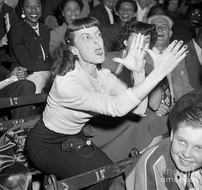 Photograph - Obviously A Dodger Fan by New York Daily News Archive