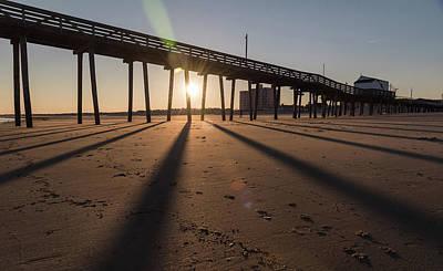Photograph - Oc Shadows by Kristopher Schoenleber
