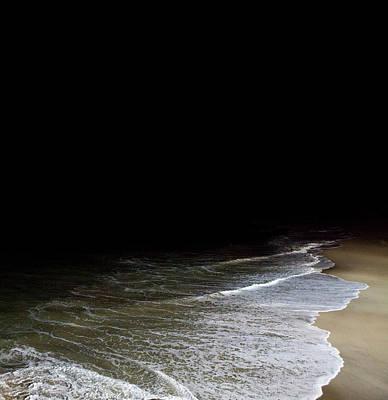 Photograph - Ocean At Night by Sam Diephuis