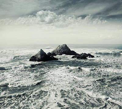 Photograph - Ocean Beach, New Zealand by Michael Sugrue