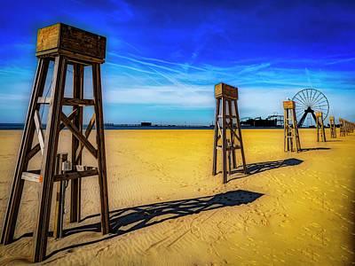 Photograph - Ocean City Beach by Paul Wear