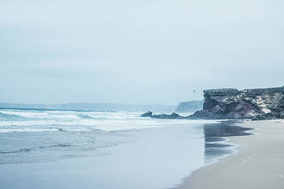 Photograph - Ocean Coast In The Morning by Anne Leven