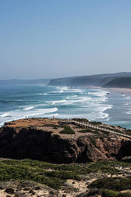 Photograph - Ocean Coast View I by Anne Leven