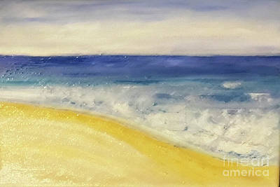 Painting - Ocean Flow by Shelley Myers