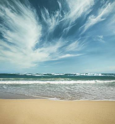 Photograph - Ocean Skyline 7 by Aaron Foster