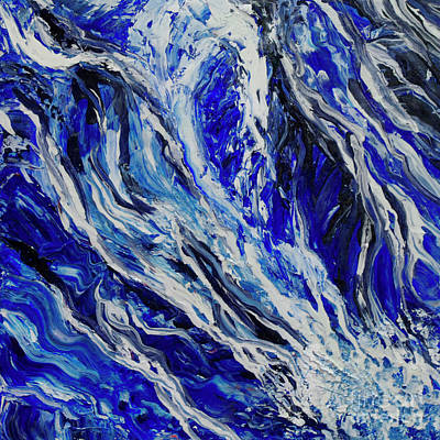 Painting - Ocean Streams by Shelly Leitheiser
