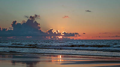 Photograph - Ocean Sunrise by Van Sutherland