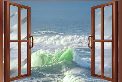 Photograph - Ocean View Fun by Bill Posner
