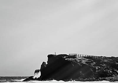 Photograph - Ocean Vintage I by Anne Leven