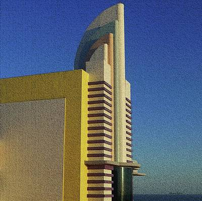 Pediatricians Office Rights Managed Images - Ocean Walk Tower Daytona Beach Royalty-Free Image by Barbie Corbett-Newmin