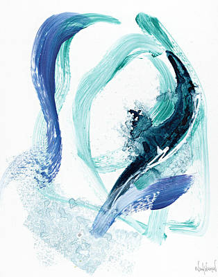 Painting - Ocean Waves by Nikol Wikman