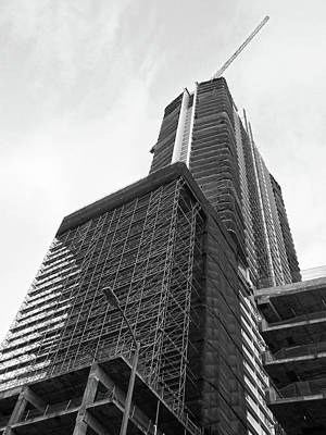 Photograph - Oceanwide Plaza Construction #2 by Hold Still Photography