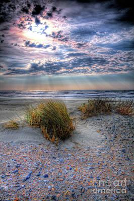 Photograph - Ocracoke Winter Dunes V by Dan Carmichael