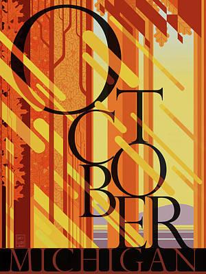 October In Michigan Original