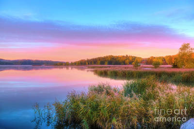Royalty-Free and Rights-Managed Images - October morning 2 by Veikko Suikkanen