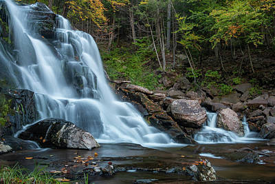 Photograph - October Morning At Bastion Falls II by Jeff Severson