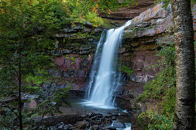 Photograph - October Morning At Kaaterskill by Jeff Severson