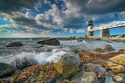 Photograph - October Morning At Marshall Point by Rick Berk