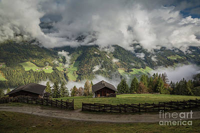 Photograph - October Morning In Zillertal by Eva Lechner