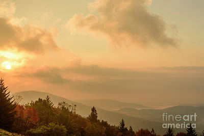 Photograph - October Mountain Sunrise by Thomas R Fletcher