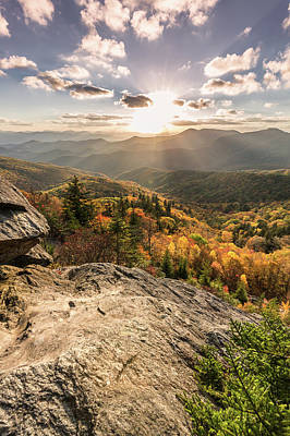 Photograph - October On The Blue Ridge Parkway  by Donnie Whitaker