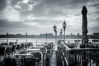Photograph - Off Season, Venice by Jean Gill