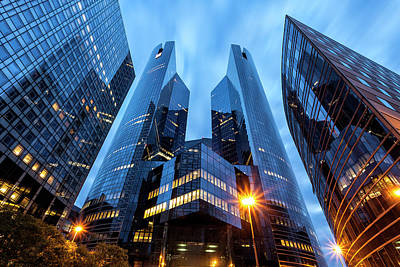 Financial District Photograph - Office Buildings In Financial District by B&m Noskowski