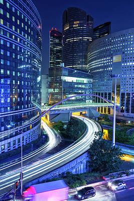 Financial District Photograph - Office Buildings In La Defense Business by B&m Noskowski