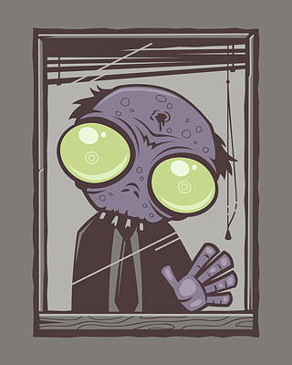 Royalty-Free and Rights-Managed Images - Office Zombie by John Schwegel