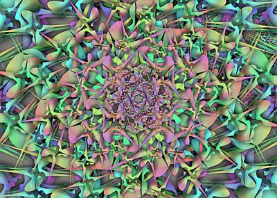 Digital Art - Oger Object Remix by Vitaly Mishurovsky