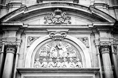 Photograph - Ognissanti Facade Florence by John Rizzuto
